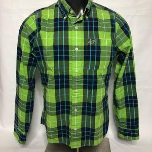 Hollister Mens Button Down Shirt